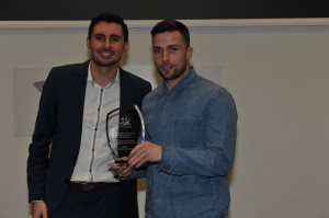 Sports Star of the Year Lewis Stevenson